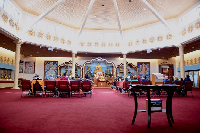 Kadampa Meditation Center New York and World Peace Temple, Glen Spey, United States