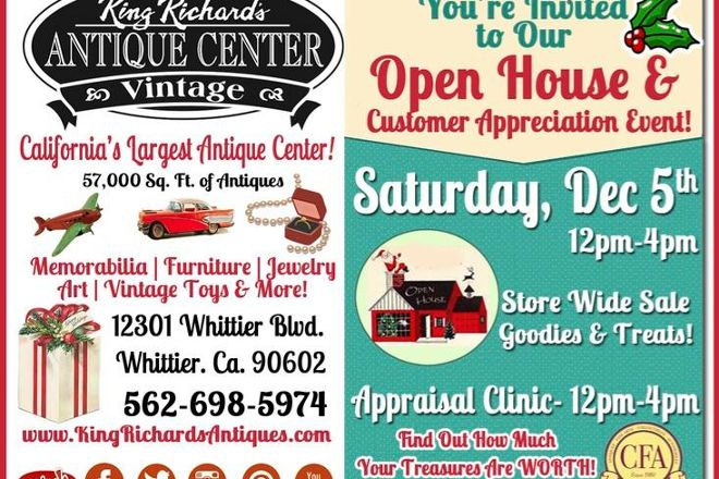 King Richard's Antique Center, Whittier, United States