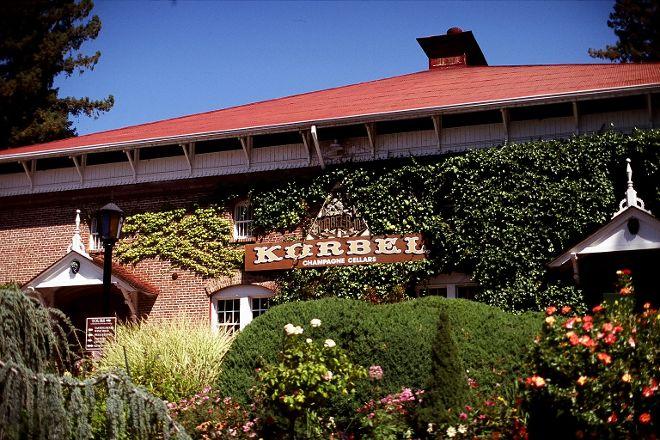 Korbel Champagne Cellars, Guerneville, United States