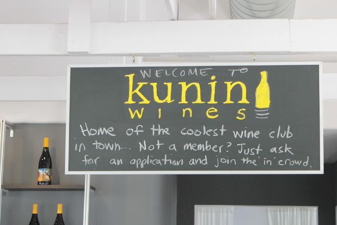 Kunin Wines Tasting Room, Santa Barbara, United States