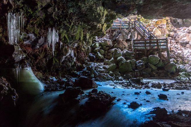 Ice Cave & Bandera Volcano, Grants, United States