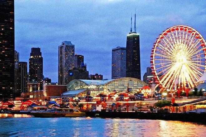 LandShark Beer Garden at Navy Pier, Chicago, United States