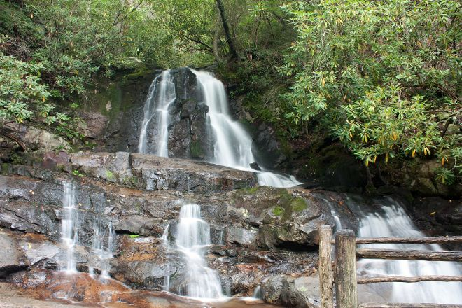 Laurel Falls, Great Smoky Mountains National Park, United States