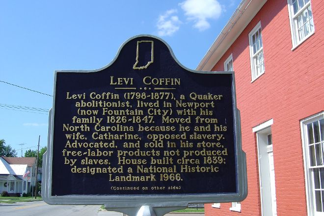Levi and Catharine Coffin State Historic Site, Fountain City, United States