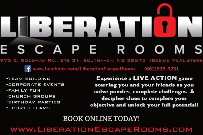 Liberation Escape Rooms, Southaven, United States