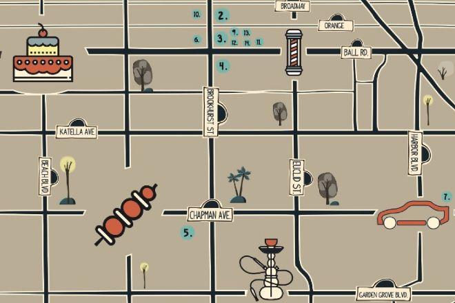 Little Arabia District, Anaheim, United States