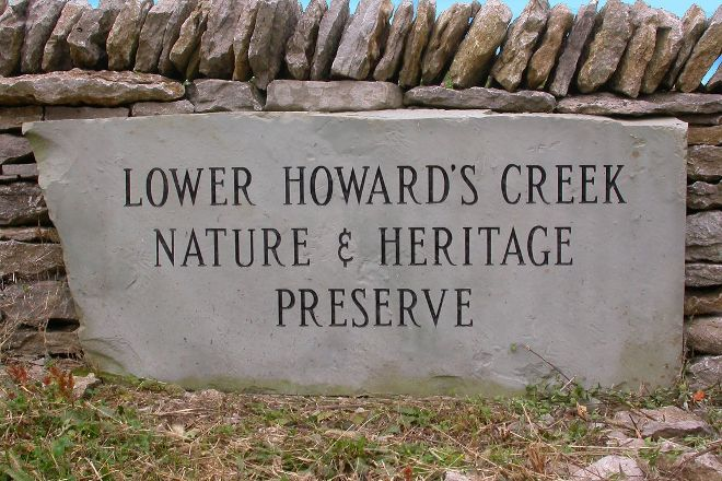 Lower Howard's Creek Nature and Heritage Preserve, Winchester, United States