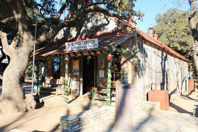 Luckenbach Texas General Store, Luckenbach, United States