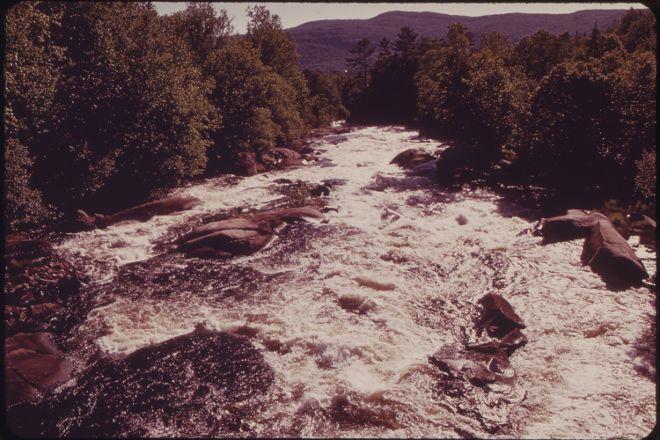 Magalloway River, Errol, United States