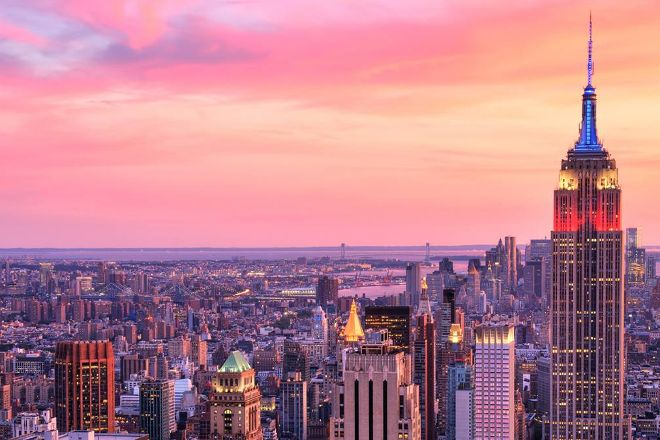 Magic Hour Rooftop Bar & Lounge, New York City, United States