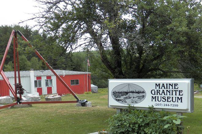 Maine Granite Industry Museum, Mount Desert, United States