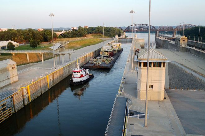 McAlpine Locks and Dam, Louisville, United States