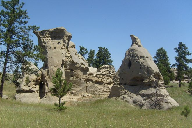 Medicine Rocks State Park, Ekalaka, United States
