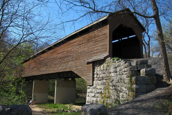 Meems Bottom Covered Bridge, Mount Jackson, United States