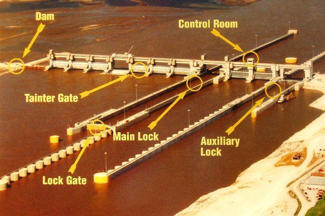 Melvin Price Locks and Dam, East Alton, United States