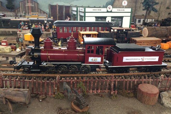 Mendocino Coast Model Railroad & Historical Society, Fort Bragg, United States