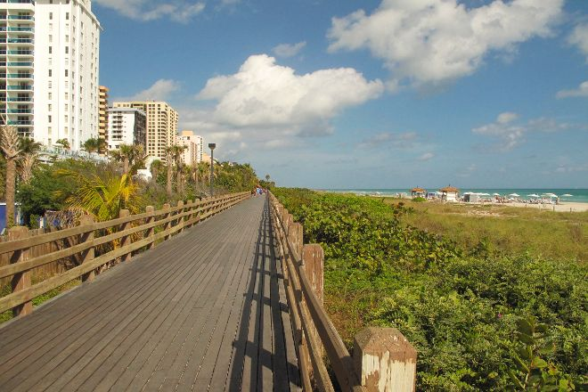 Miami Beach Boardwalk, Miami Beach, United States