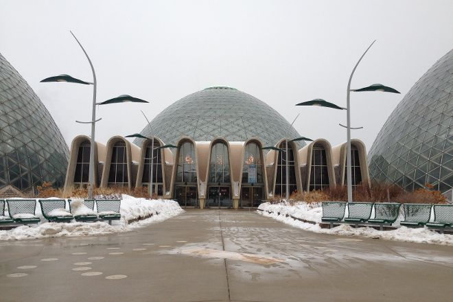 Mitchell Park Horticultural Conservatory (The Domes), Milwaukee, United States