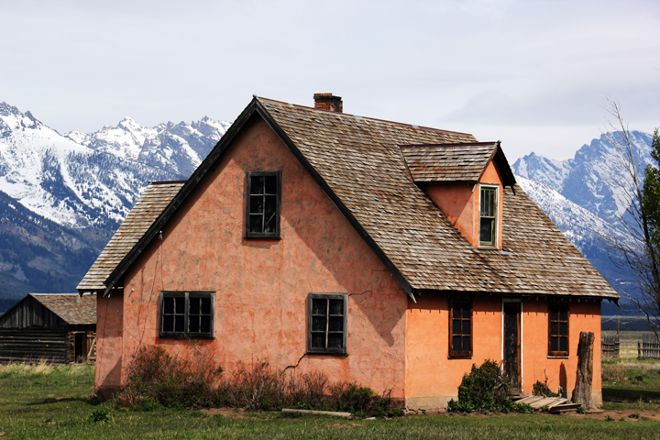 Mormon Row Historic District, Moose, United States
