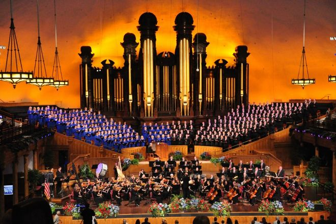 Mormon Tabernacle Choir, Salt Lake City, United States