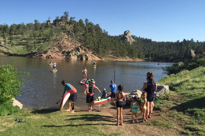 Mountain' SUP, Fort Collins, United States