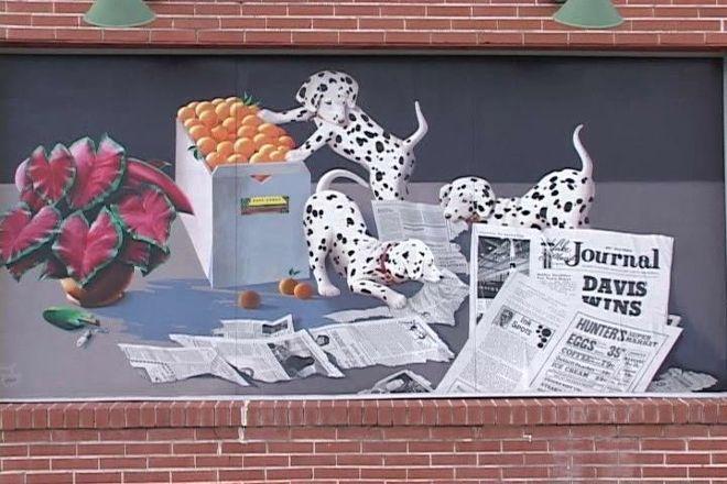 Murals of Lake Placid, Lake Placid, United States