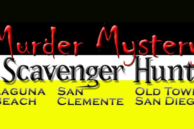 Murder Mystery Scavenger Hunt, Laguna Beach, United States
