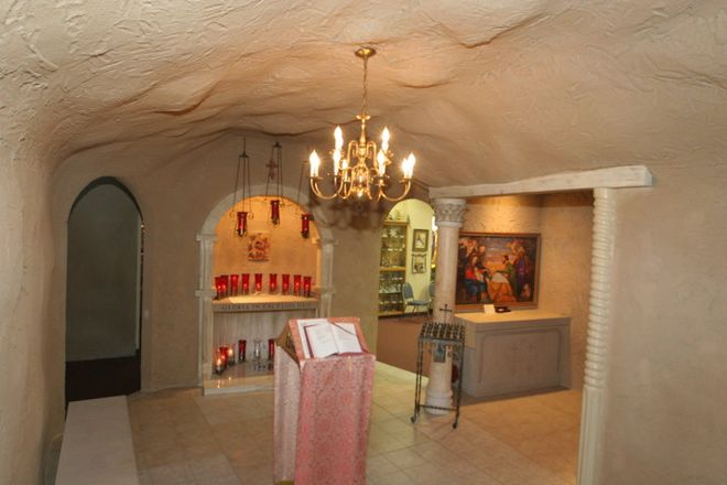 Nativity Museum and replica of Bethlehem's cave, Akron, United States