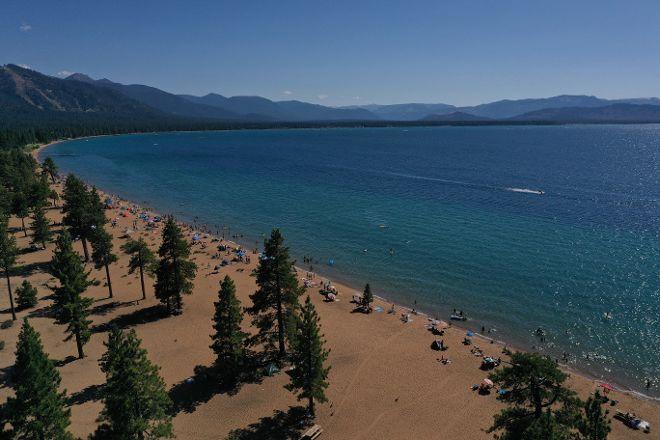 Nevada Beach Campground, Lake Tahoe (Nevada), United States