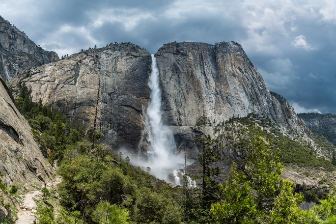Nevada Falls Loop, Yosemite National Park, United States