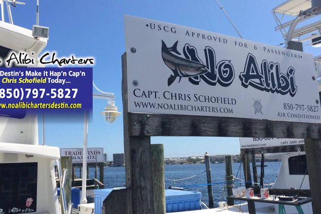 No Alibi Charters, Destin, United States