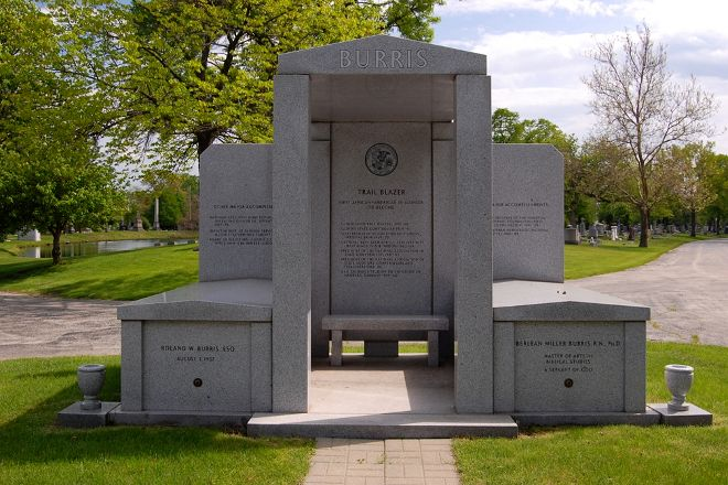 Oak Woods Cemetery, Chicago, United States