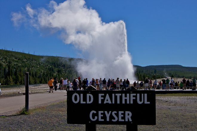 Old Faithful, Yellowstone National Park, United States