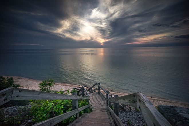 Orchard Beach State Park, Manistee, United States