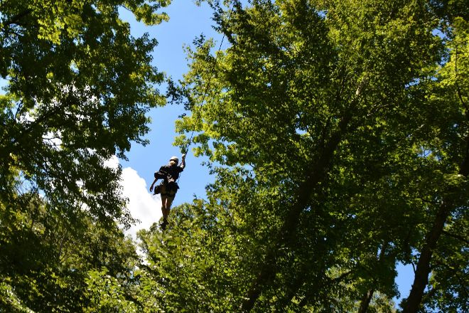 Ozone Zipline Adventures, Oregonia, United States