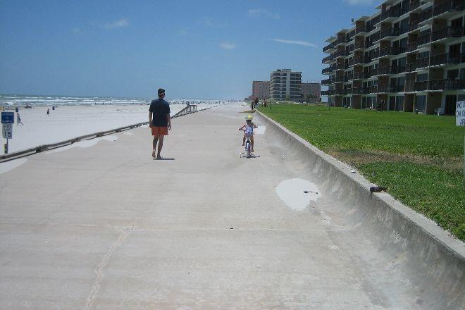 Padre Island Sea Wall Beach, Corpus Christi, United States