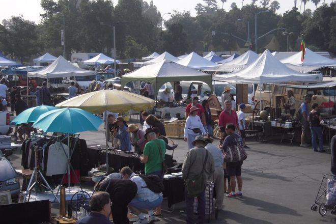 Pasadena City College Flea Market, Pasadena, United States