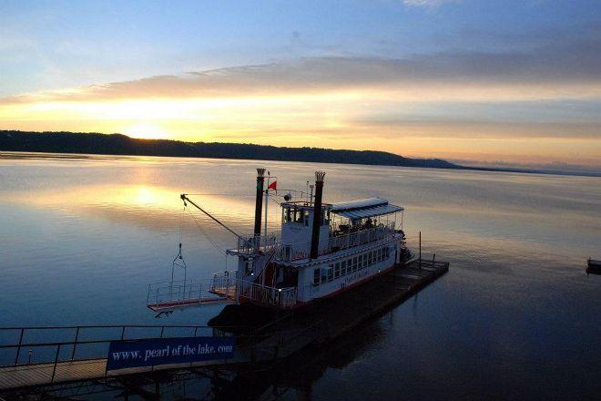 Pearl of the Lake Paddleboat, Lake City, United States