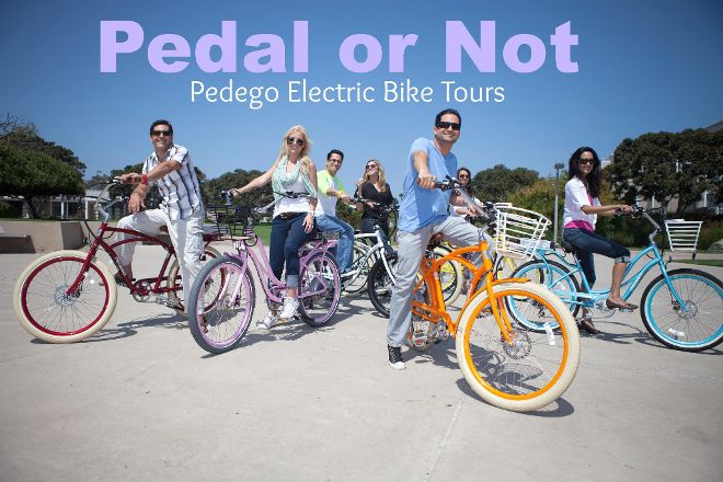 Pedal or Not... Electric Bicycle - Tours, Santa Monica, United States