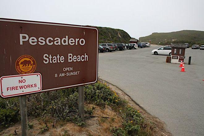 Pescadero State Beach, Half Moon Bay, United States