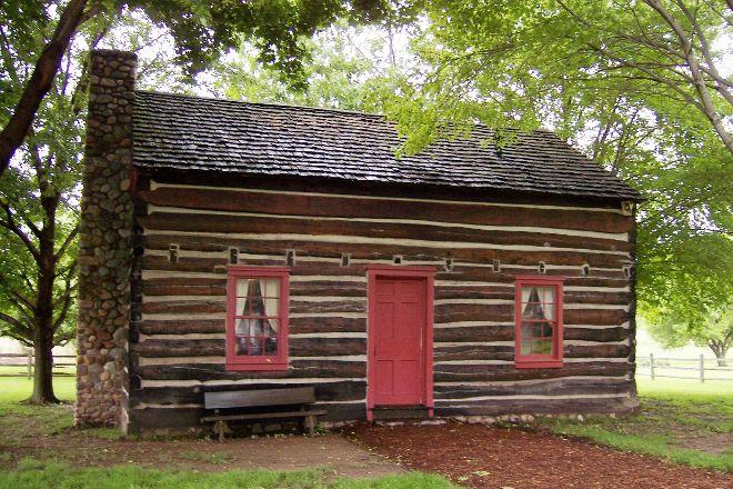 Peter Whitmer Log Home, Waterloo, United States