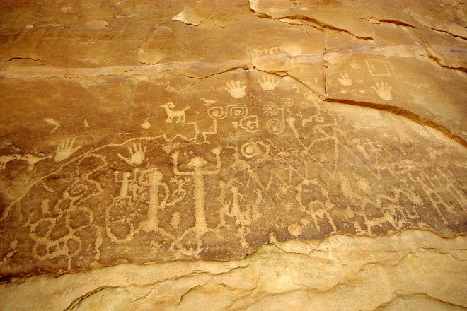 Petroglyph Point Hike, Mesa Verde National Park, United States
