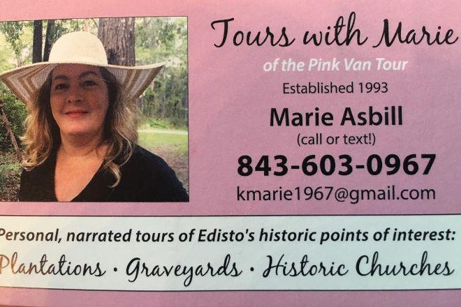 Pink Van Tour by Marie, Edisto Island, United States