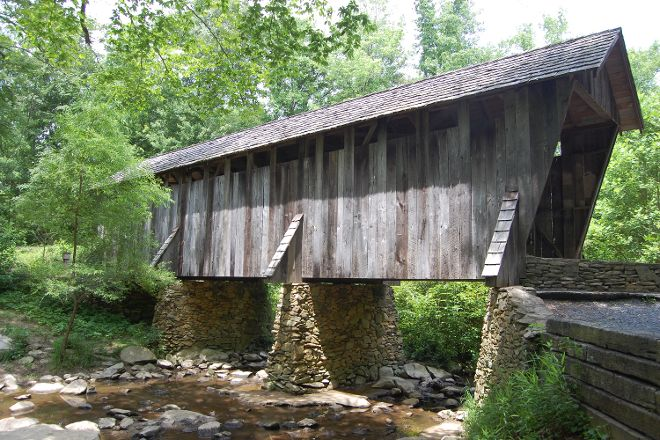 Pisgah Covered Bridge, Seagrove, United States