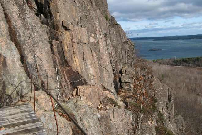 Precipice Trail, Acadia National Park, United States