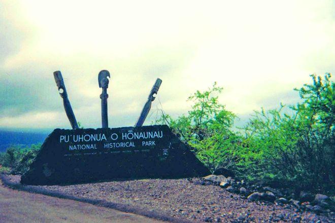 Pu'uhonua O Honaunau National Historical Park, Honaunau, United States