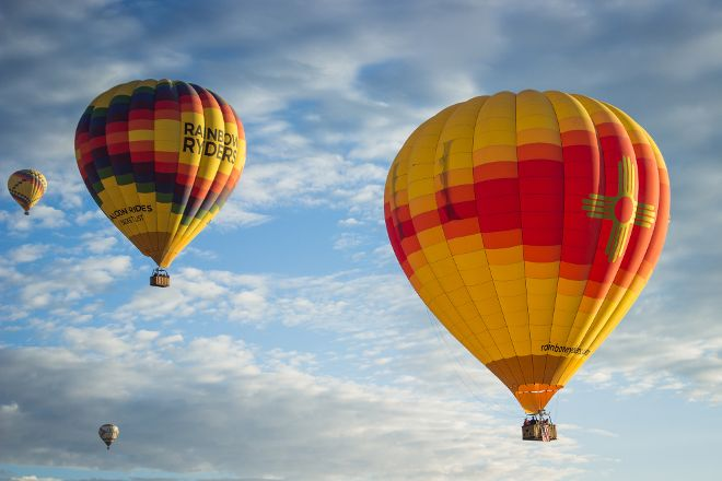 Rainbow Ryders Hot Air Balloon, Albuquerque, United States