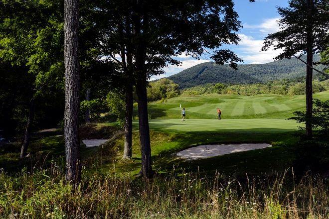 Raven Golf Club, Snowshoe, United States