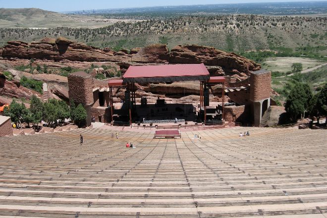 Red Rocks Park and Amphitheatre, Morrison, United States
