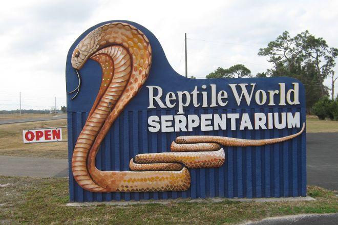 Reptile World Serpentarium, Saint Cloud, United States